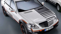 Mercedes ESF S400 Hybrid Concept 2009 initial photos