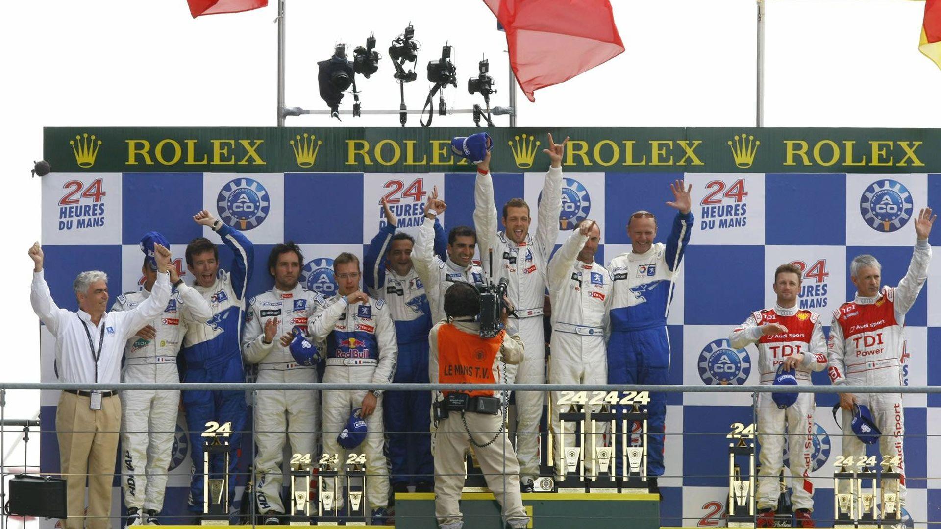Peugeot ends Audi's Le Mans Domination