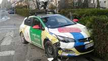 Google Maps Street View car crashes in Serbia