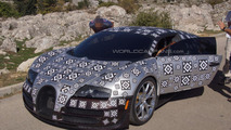 Bugatti Chiron to have e-turbos and a torque-vectoring all-wheel drive system
