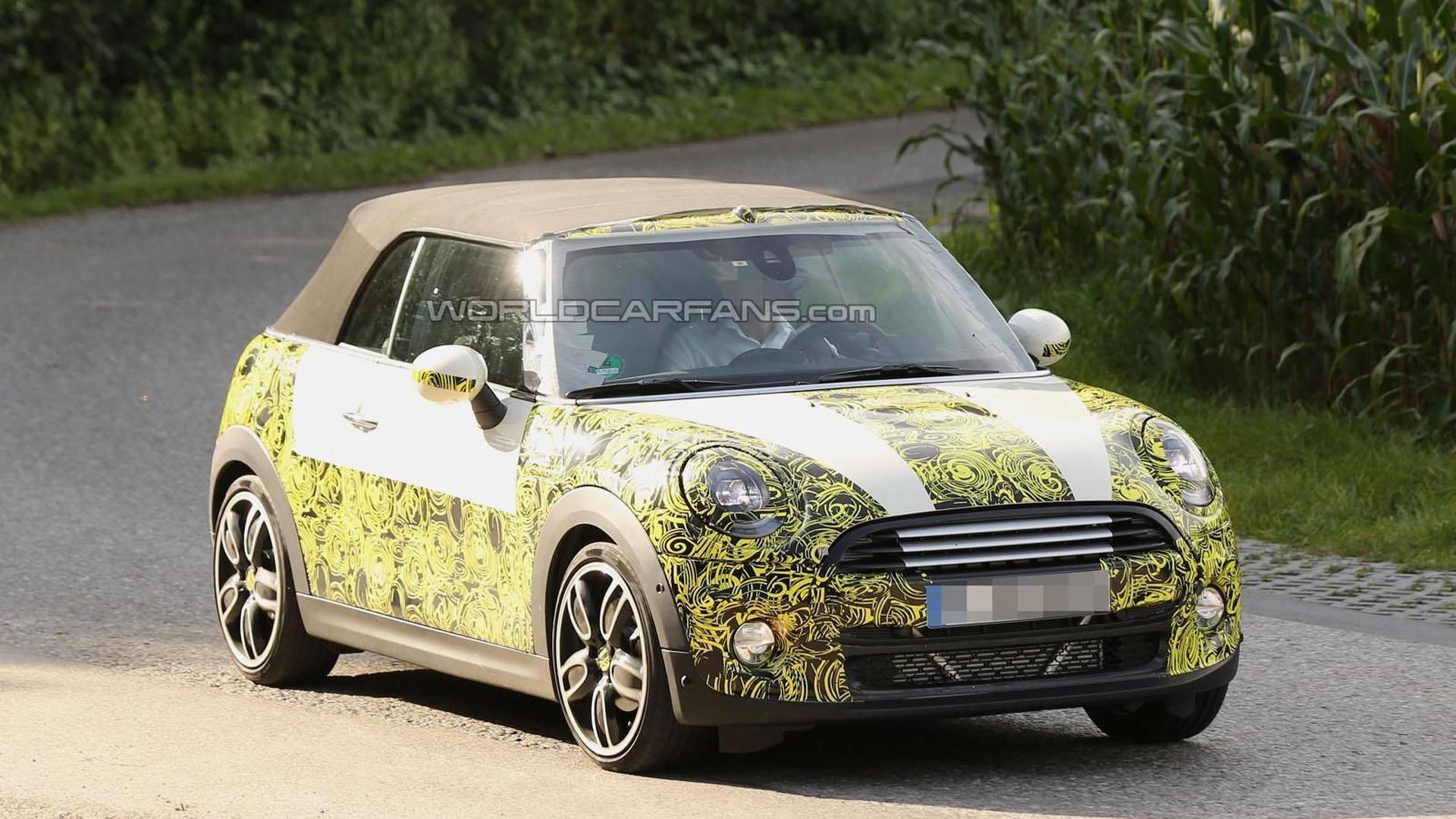 2015 MINI Cooper Cabrio continues the slow march to production