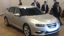 Stillborn 2013 Saab 9-3 shows it face