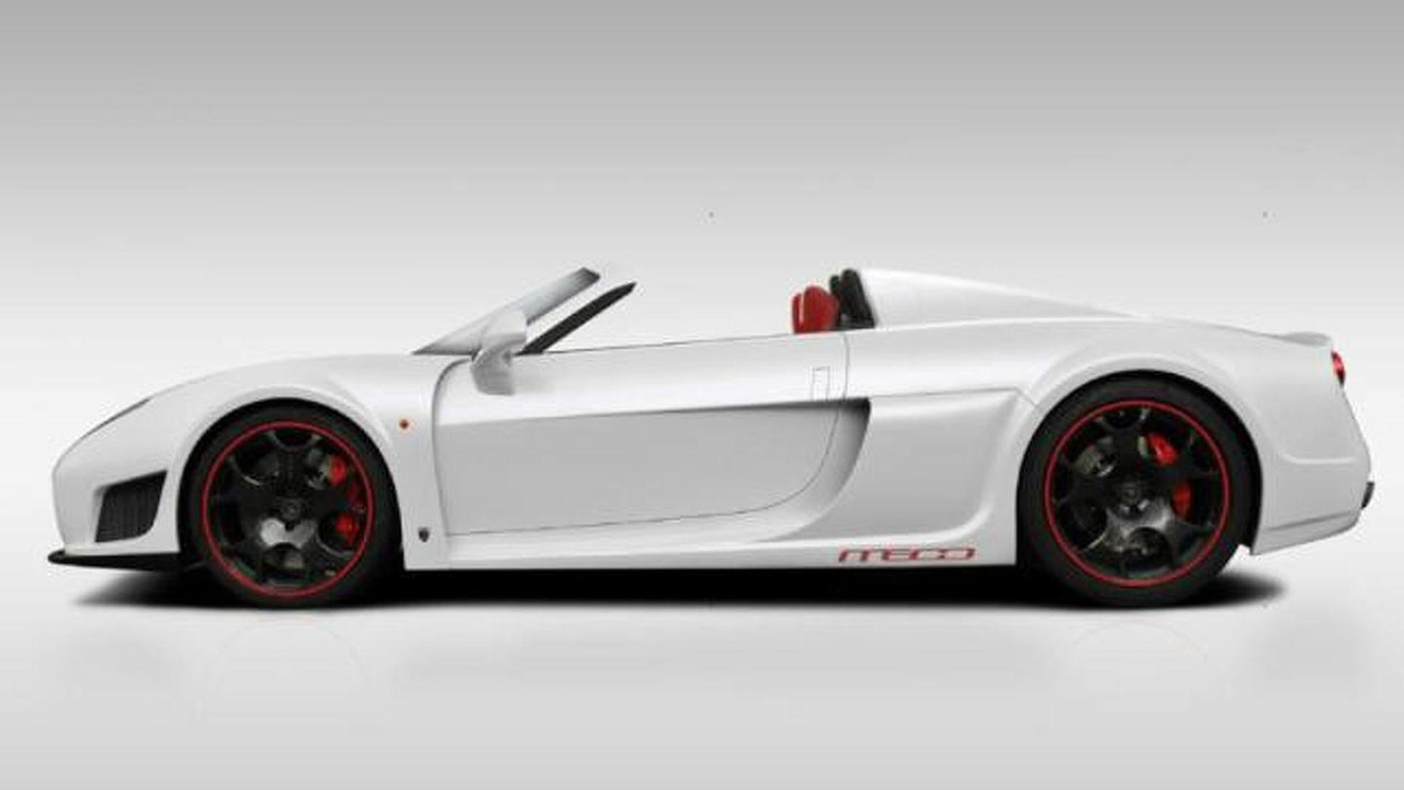 Noble M600 Roadster rendering 26.6.2012