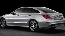 Mercedes-Benz C-Class SportCoupe rendered