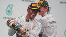Hamilton claims he 'blew Rosberg away'