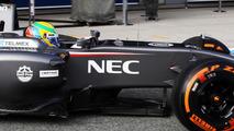 Sauber C33 launch 28.01.2014 Formula One Testing Jerez Spain