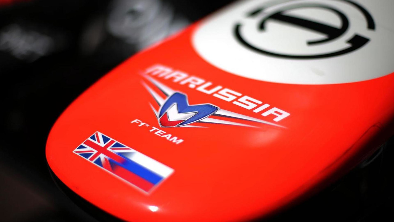 Marussia F1 Team MR02 nosecone