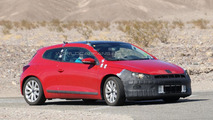 2014 Volkswagen Scirocco facelift spy photo