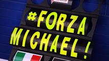 Schumacher 'waking up process' has begun - manager