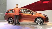 Honda Mobilio concept unveiled in Indonesia