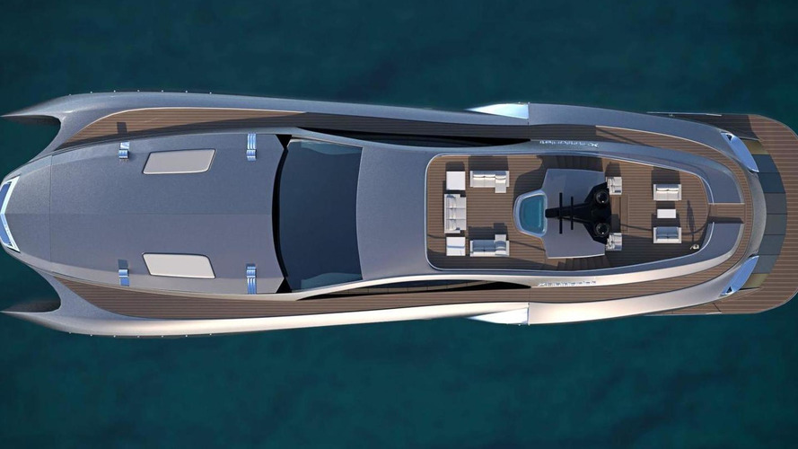 Gray Design intros Xhibitionist yacht and Xhibit G car design combo [video]
