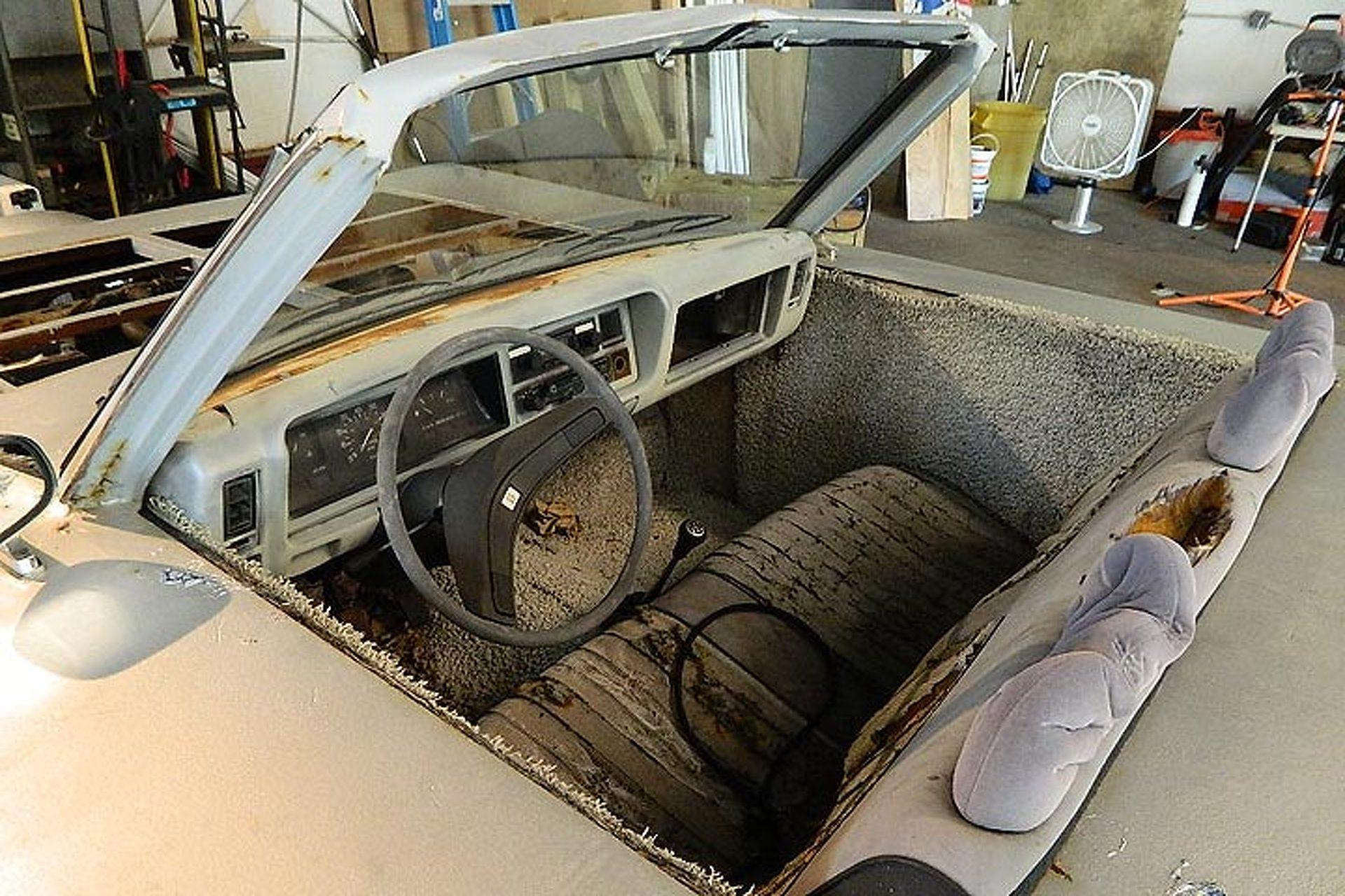 Meet the Car That's Shaped Like a Meineke Muffler