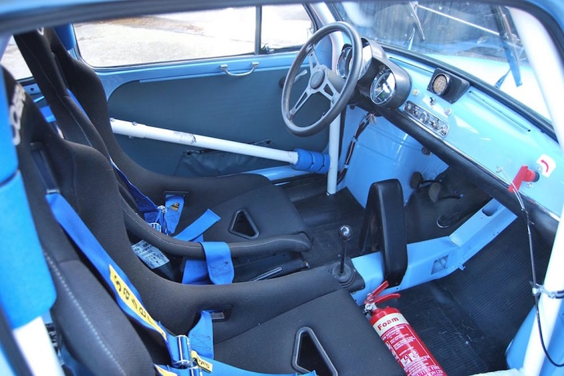 This 1966 Fiat Abarth 1000 TC Corsa Auction Will Get Your Heart Racing