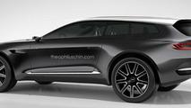Aston Martin DBX Shooting Brake rendered