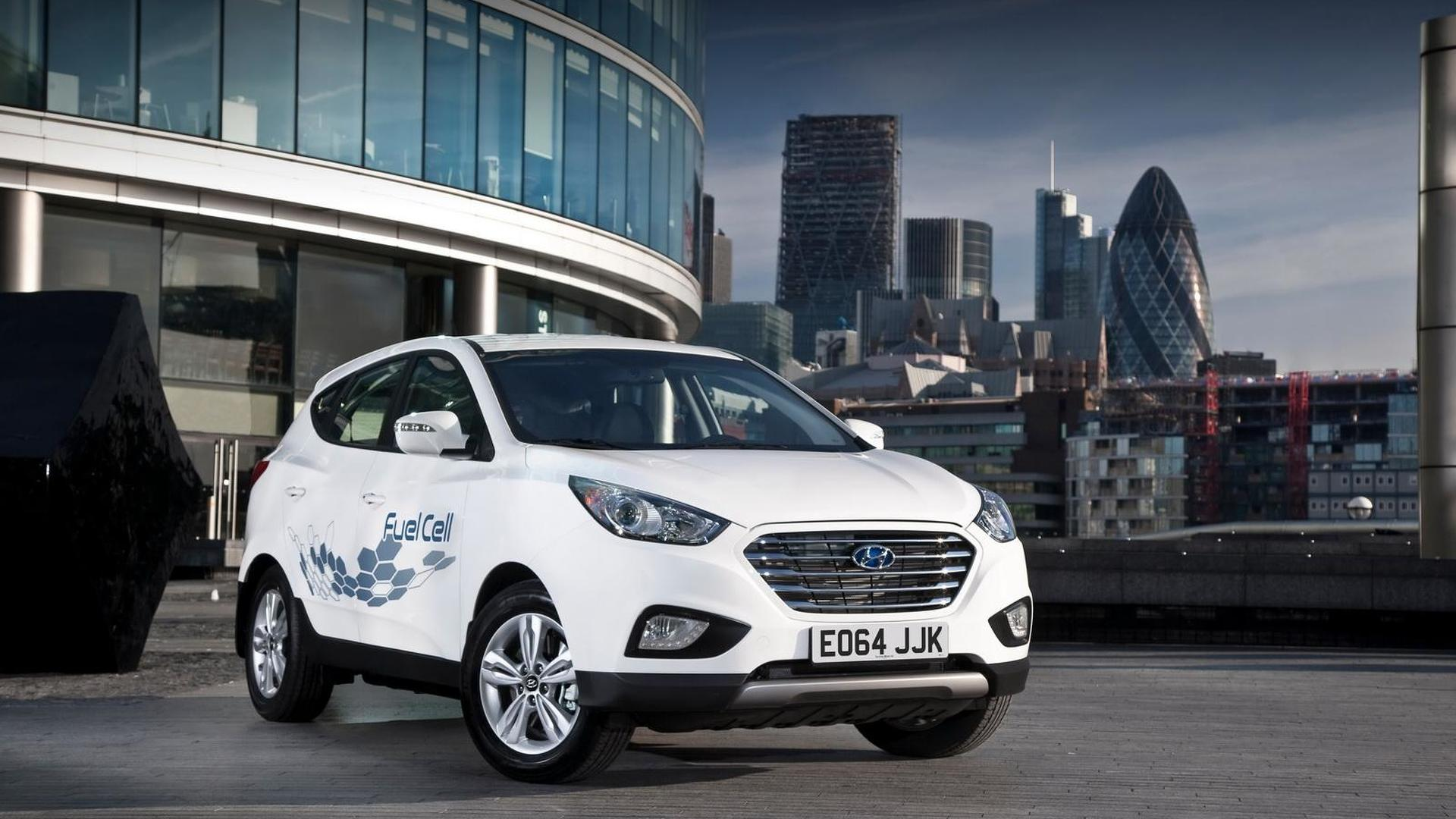 Hyundai ix35 Fuel Cell priced from £53,105 taking into account £15,000 incentive
