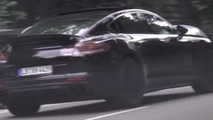 New Porsche Panamera spy video shows production lights