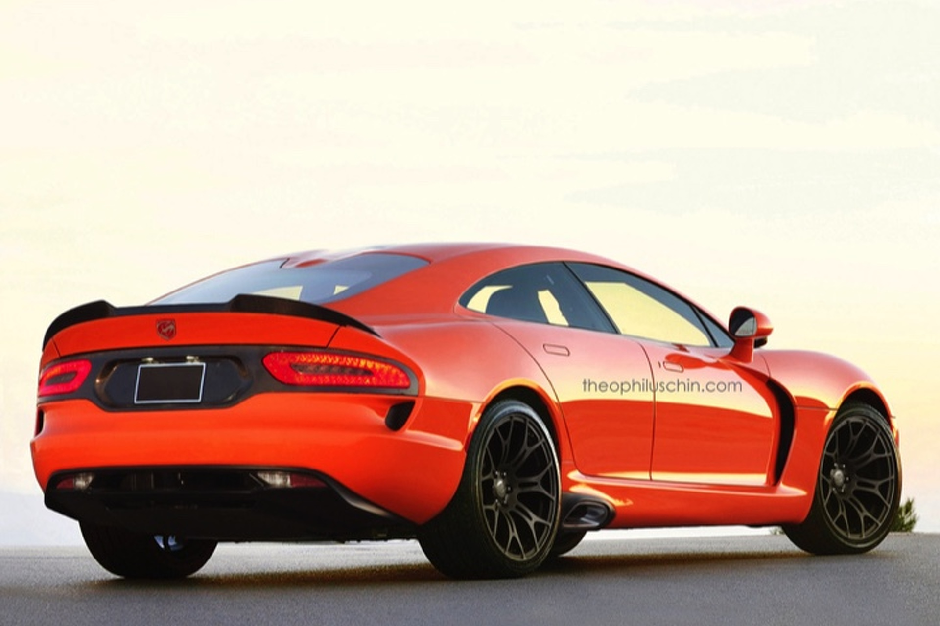 Dodge Viper Sedan Concept Ticks All the Wrong Boxes