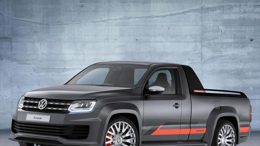 Volkswagen Amarok Power concept leaks out early