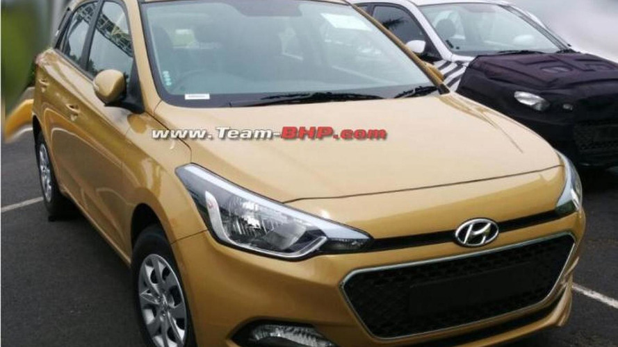 Second-gen Hyundai i20 spied without camouflage