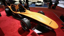 Delphi Sbarro F1for3 concept live in Geneva, 600, 07.03.2012