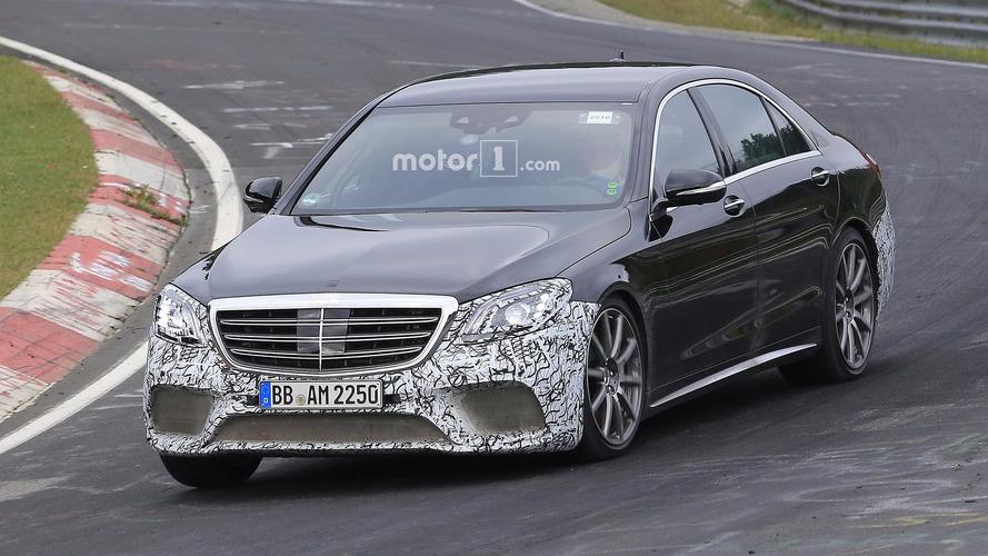 Photos espion - La Mercedes-AMG S 63 restylée sur le Nürburgring