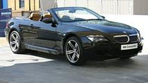 BMW M6 Convertible at British Motor Show