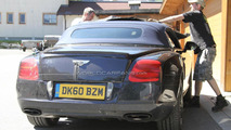 2012 Bentley Continental GTC Speed spy photo - 28.6.2011