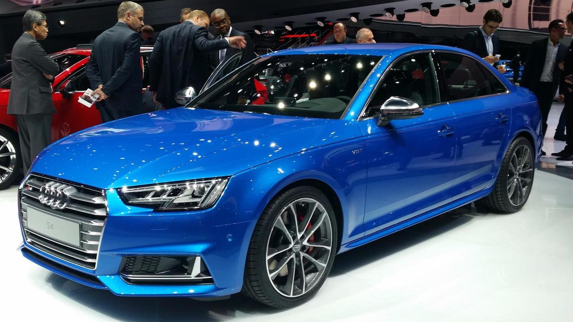 2016 audi s4 announced in frankfurt with new v6 3 0 tfsi. Black Bedroom Furniture Sets. Home Design Ideas
