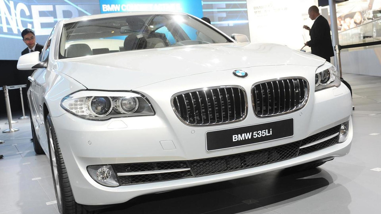 BMW 535li / series Long Wheelbase Unveiled at Auto China in Beijing