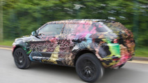 2011 Range Rover LRX 3-door compact SUV spied in UK for first time