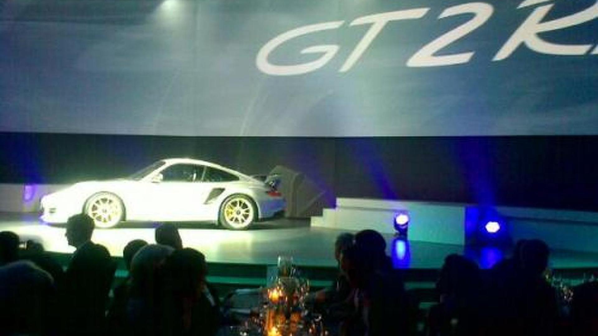 Porsche 911 GT2 RS breaks out early