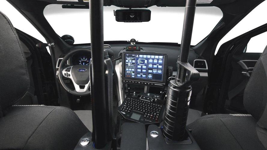 Ford Explorer Police Interceptor utility vehicle revealed