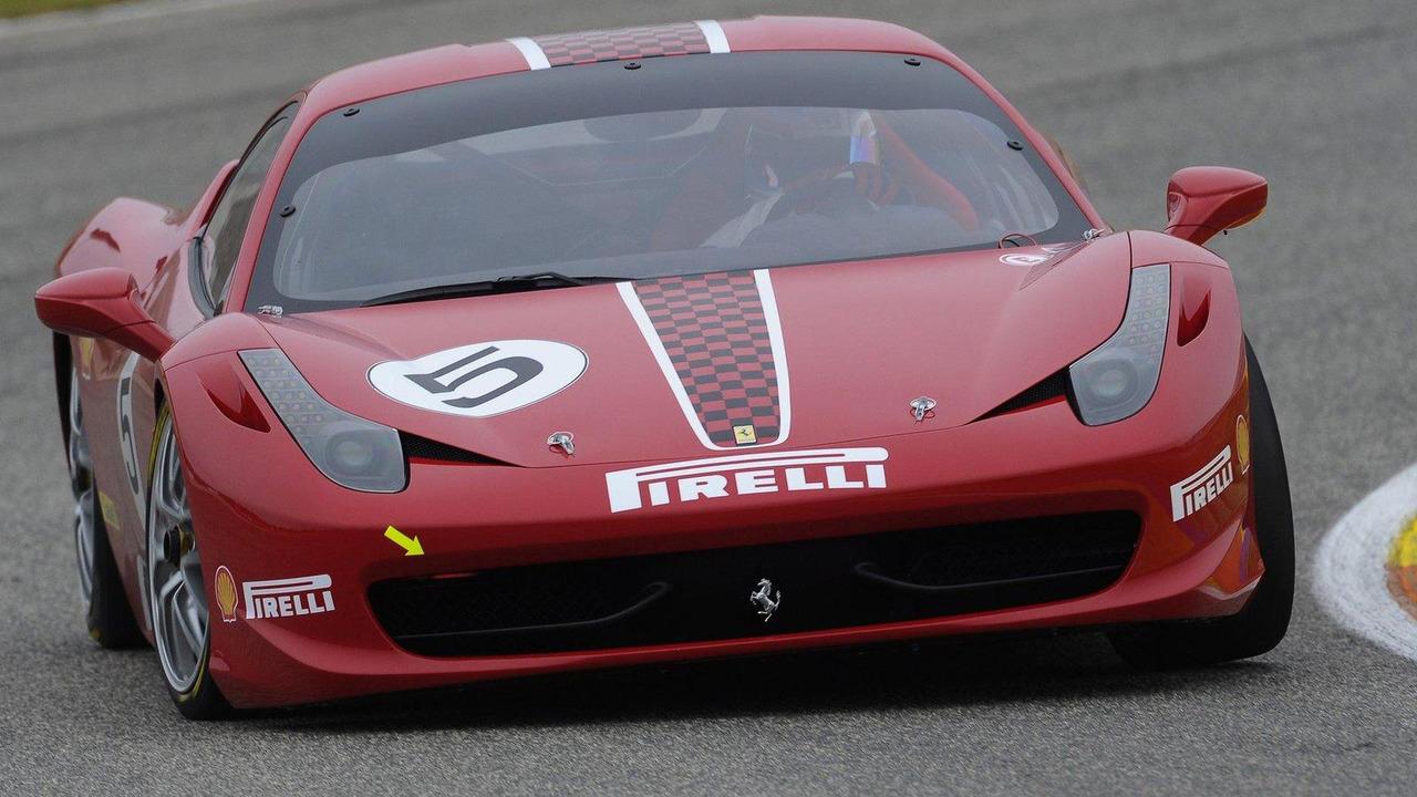 Ferrari 458 Challenge 02.12.2010
