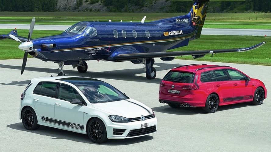 VW salutes Switzerland with 360-hp Golf R special edition