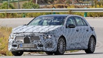 Possible 2018 Mercedes-AMG A40 spy photos
