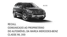 O curioso caso do recall de um só Mercedes-Benz ML 350