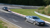 Nissan GT-R on Nurburgring