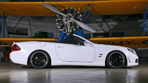 Inden-Design White Angel SL 65 AMG 680hp Conversion
