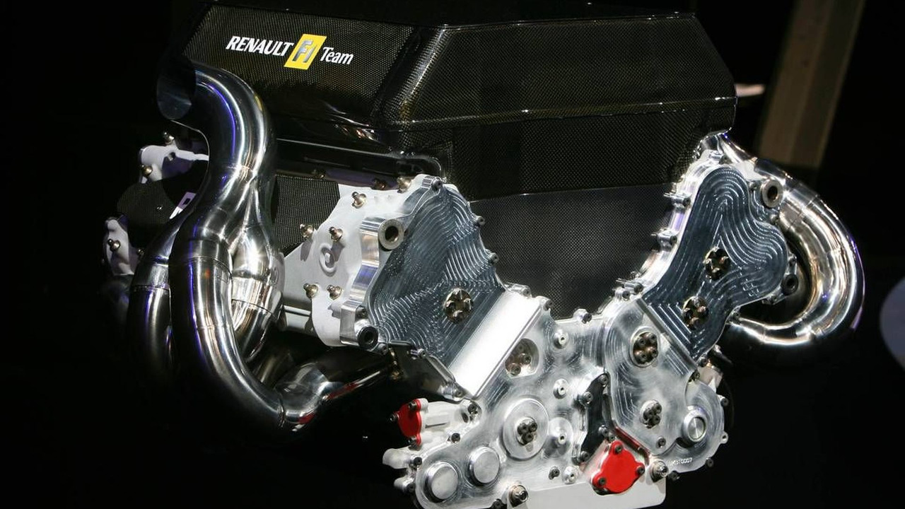 The Netherlands Engine of the Renault R27, Renault R27 Launch, 24.01.2007 Amsterdam