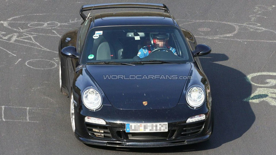 Porsche Aerokit Cup for 997 Facelift Spy Photos