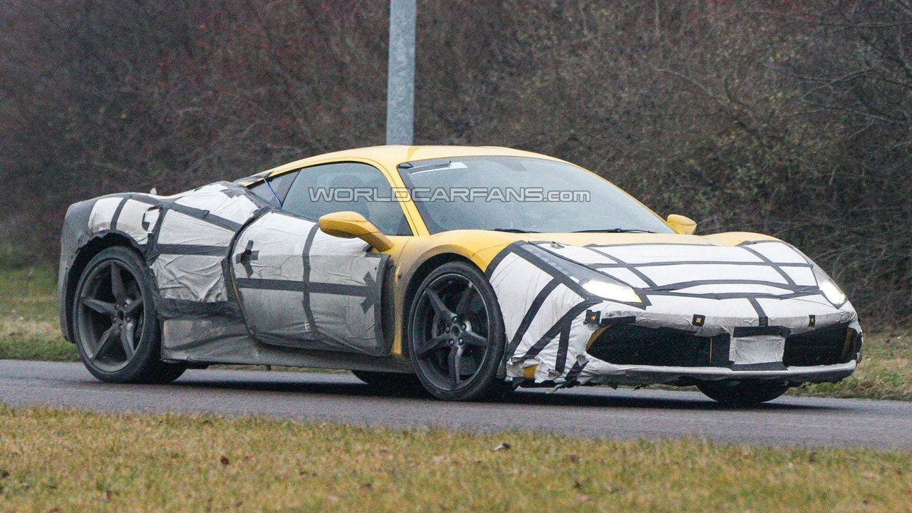 Ferrari 458 M spy photo