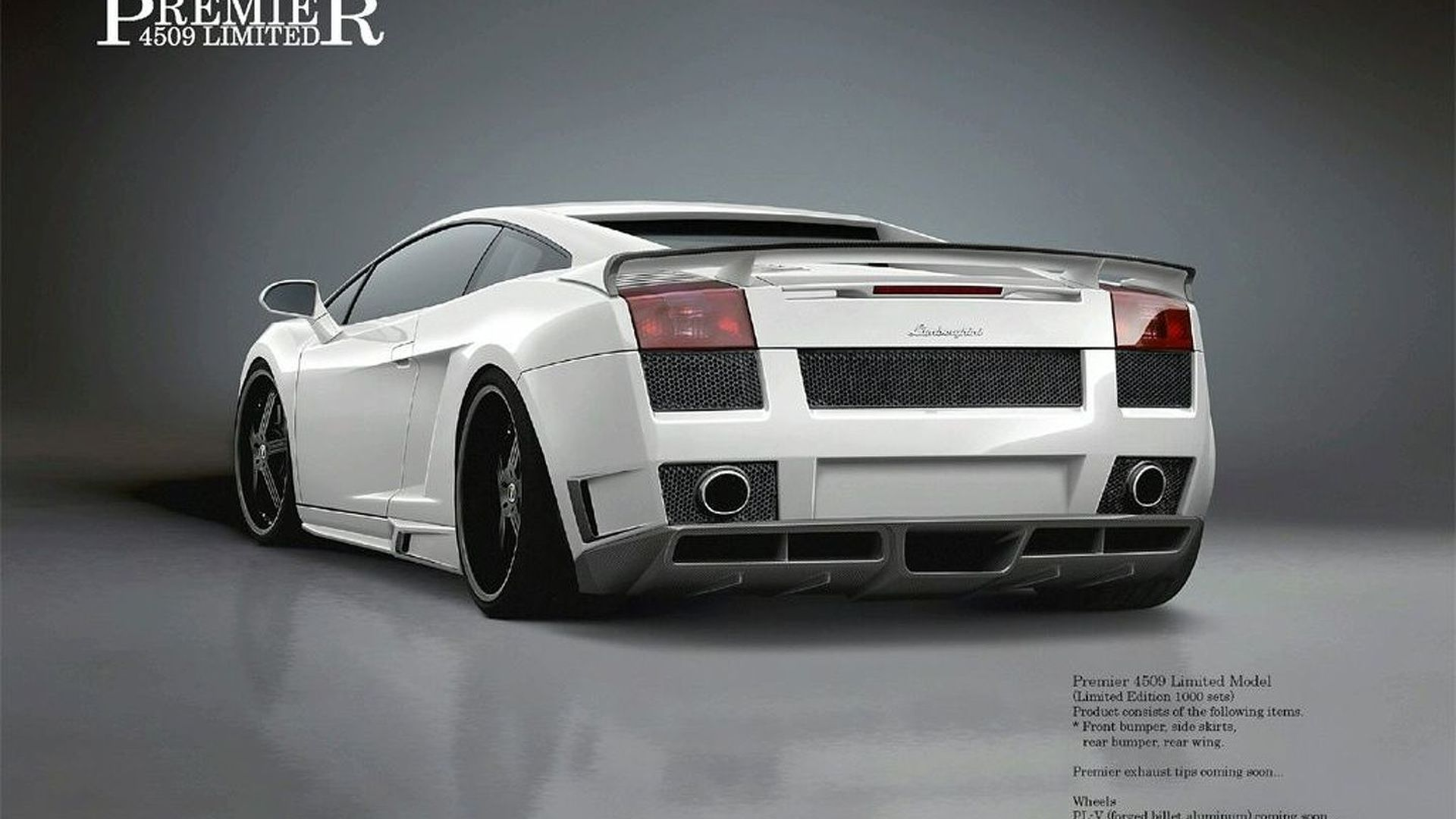 Lamborghini Gallardo Aero Kit by Premier4509 Unveiled