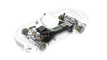 Mercedes SLS AMG E-CELL electric drivetrain