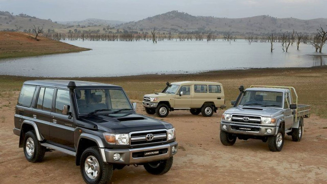 Toyota Landcruiser Series
