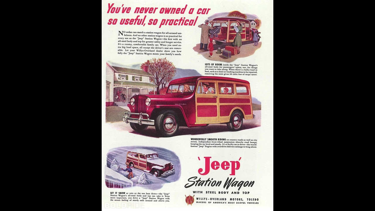 Jeep Willy Station Wagon