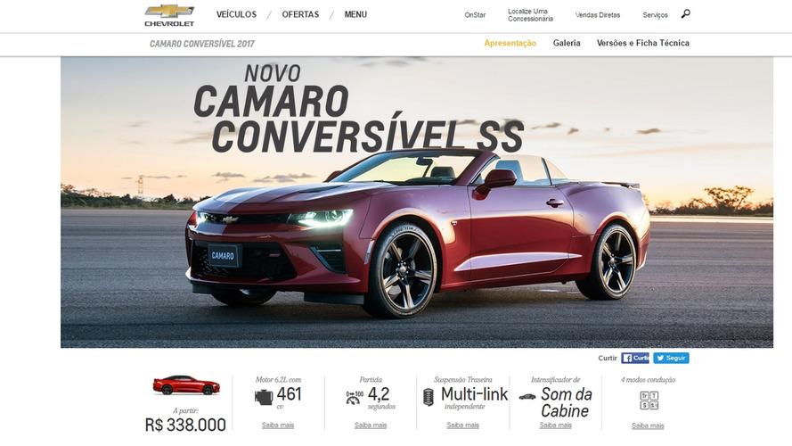 Novo Camaro