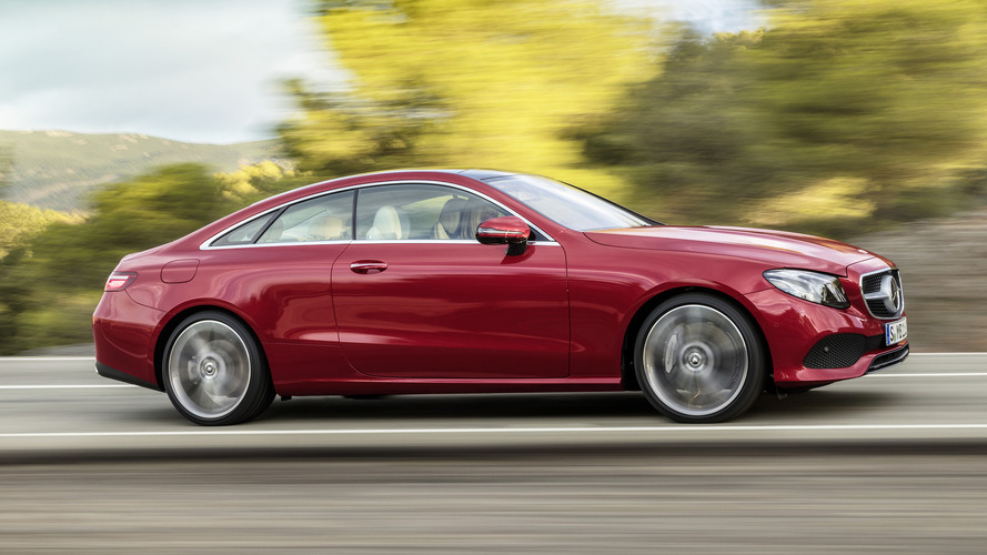 2018 Mercedes-Benz E-Class Coupe: A ménage à trois of luxury, style, and tech