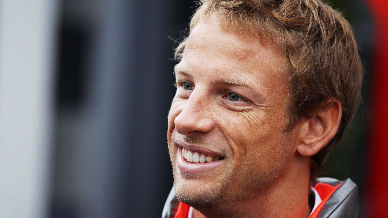 Jenson Button 25.08.2013 Belgian Grand Prix
