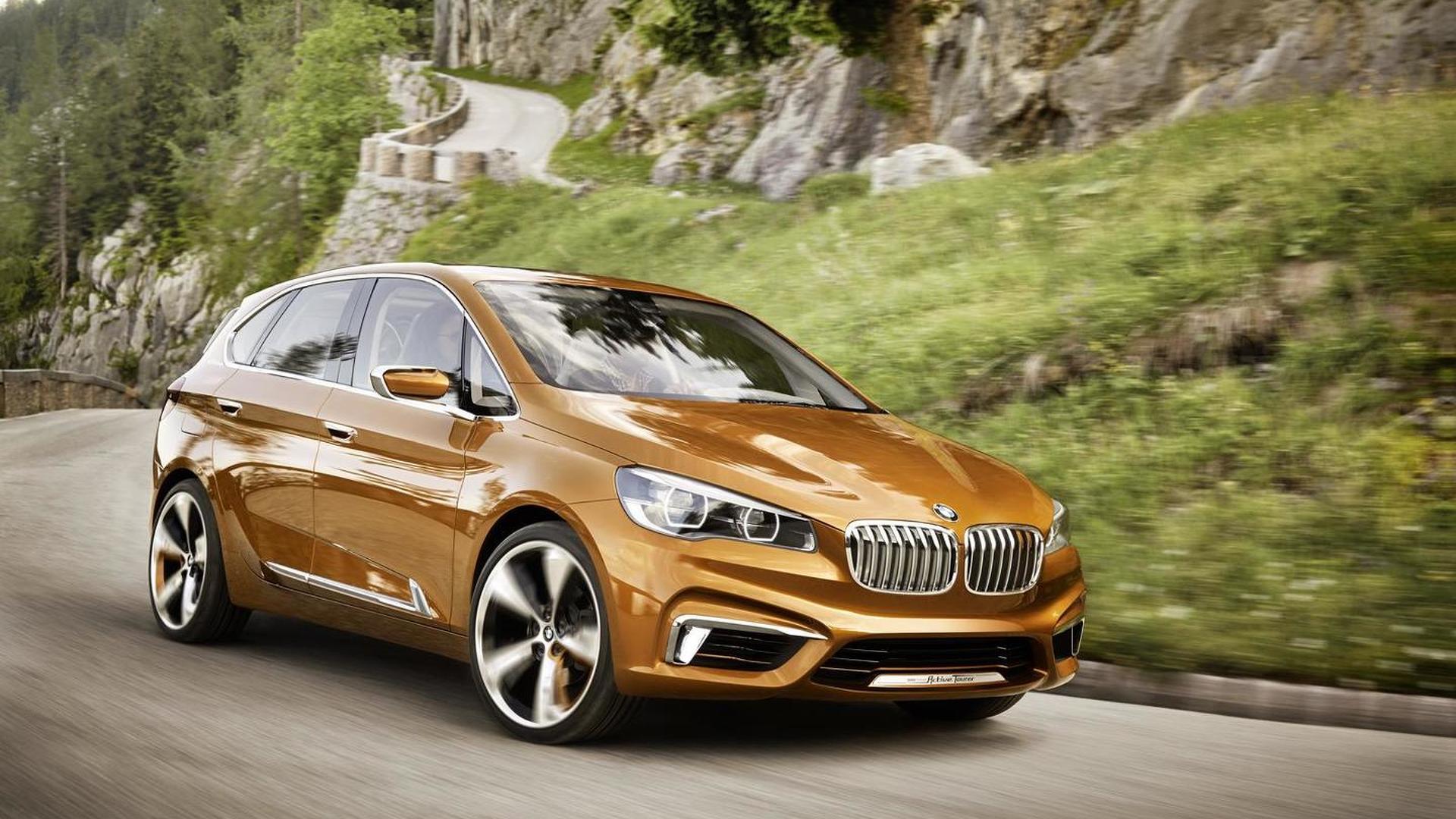 2013 BMW Concept Active Tourer Outdoor unveiled