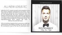 Lexus NAIAS invitation confirms RC-F with 460 bhp V8